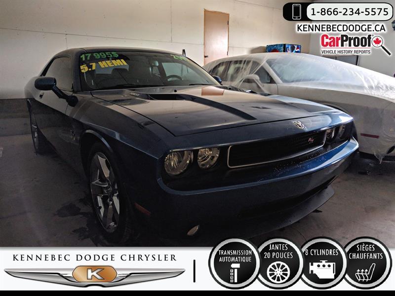 Dodge Challenger 2010 R-T (V8 5.7L,CUIR,20'',SIÈGES CHAUFFANTS) #38745B