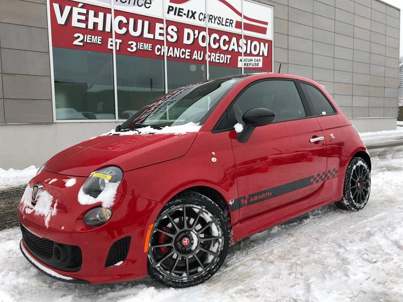 Fiat 500 2012 2dr HB Abarth+CUIR+TOIT+MAGS+WOW! #UD5006