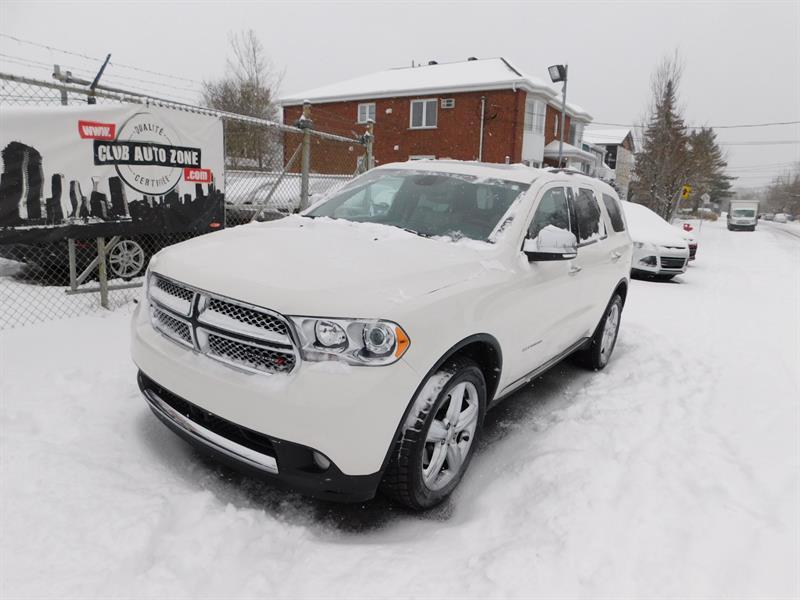 Dodge Durango 2012 CITADEL AWD 7 PASSAGER NAVIGATION CAMÉRA DE RECUL  #CC318115