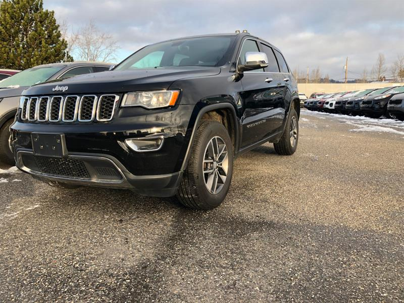 2017 Jeep Grand Cherokee 4WD 4dr Limited #PK2597