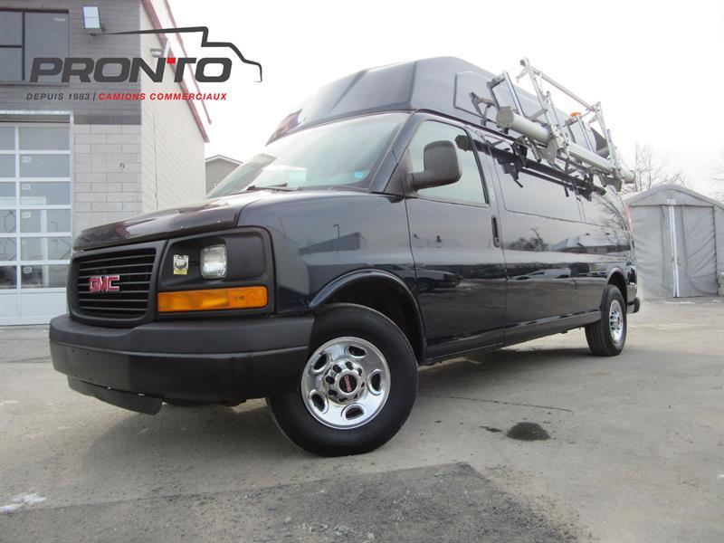 GMC Savana Cargo Van 2011 3500 155 Allongé Toit surélevé #3780