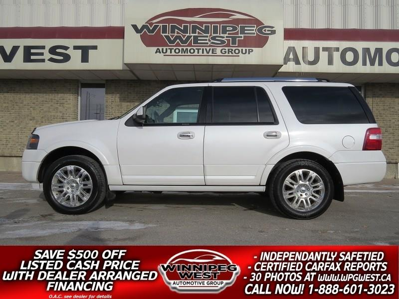 2011 Ford Expedition LIMITED EDITION, DVD, ROOF, NAV, MB SUV! #GNW4828