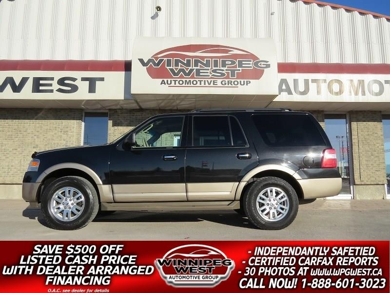 2011 Ford Expedition HEAT/COOL LEATHER, 8 PASS, TOW PKG, MINT & LOADED! #GNW4818
