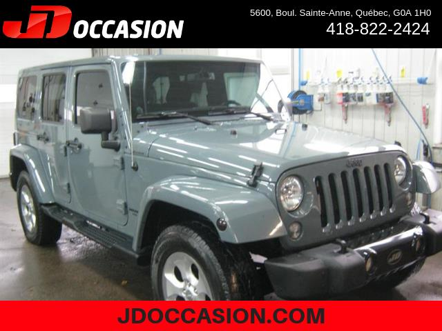 Jeep Wrangler Unlimited 2014 4WD 4dr Sahara #A4942
