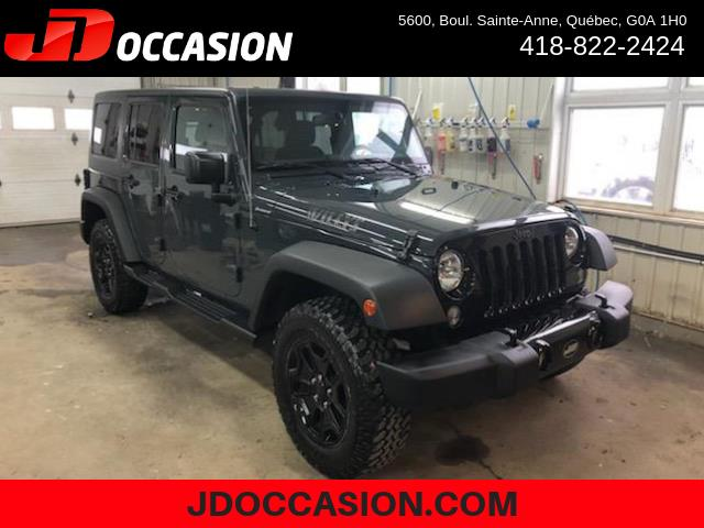 Jeep Wrangler Unlimited 2017 4WD 4dr Willys Wheeler #90150A