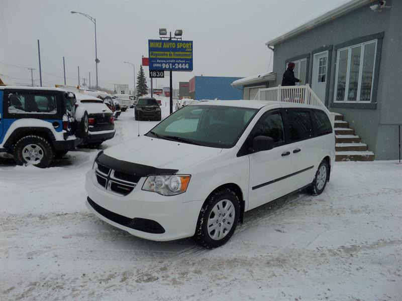 Dodge Grand Caravan 2015 4dr Wgn Canada Value Package