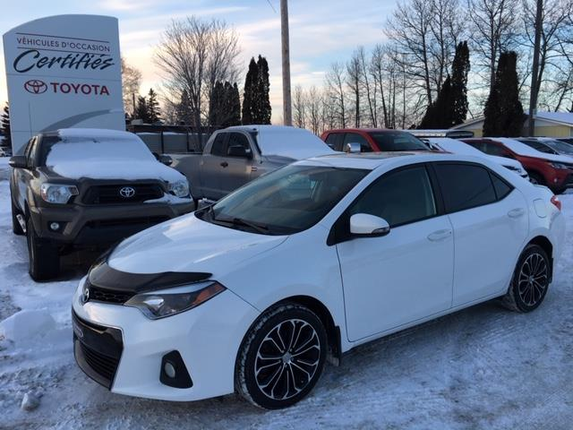 Toyota Corolla 2015 4dr Sdn S #12012A
