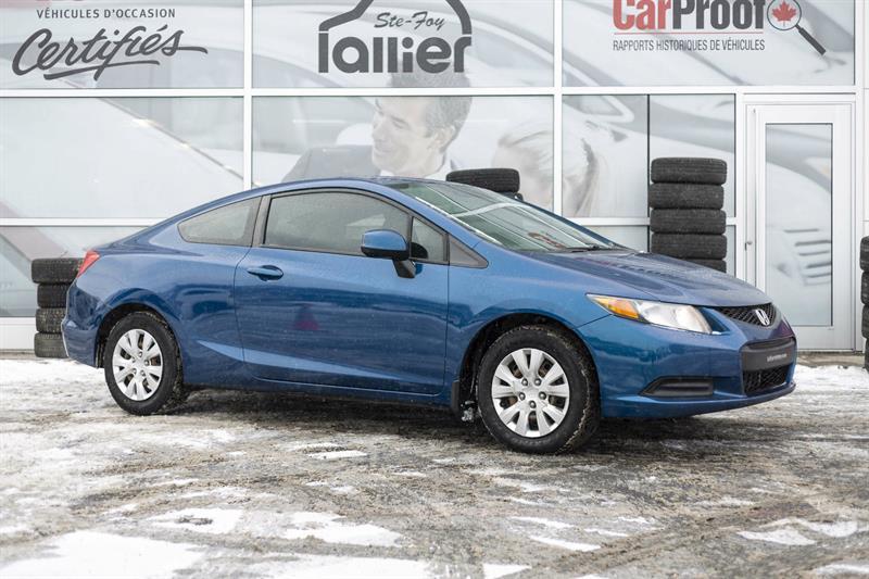 Honda Civic 2012 LX ***GARANTIE 10 ANS/200 000 KM*** #181239B