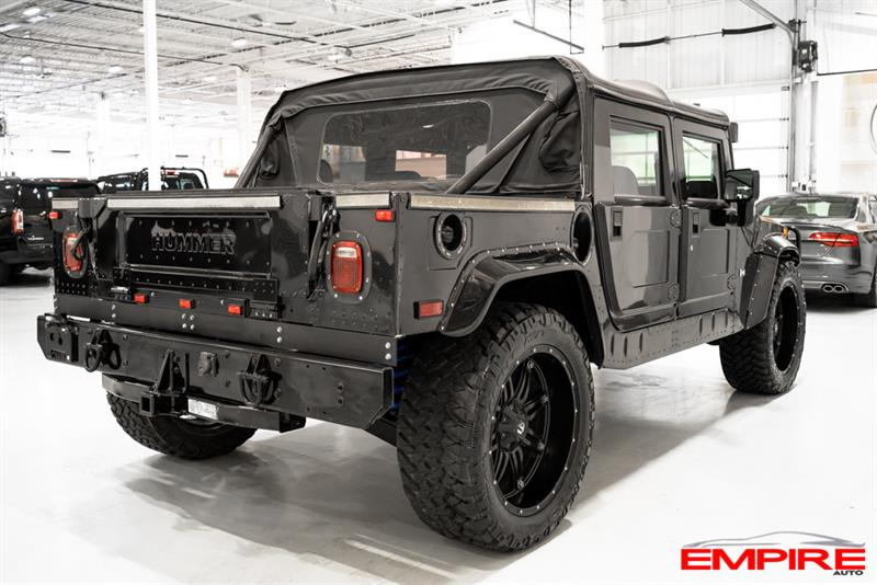2004 hummer h1 open top sut diesel 6 5l used for sale in saint eustache at autos empire. Black Bedroom Furniture Sets. Home Design Ideas