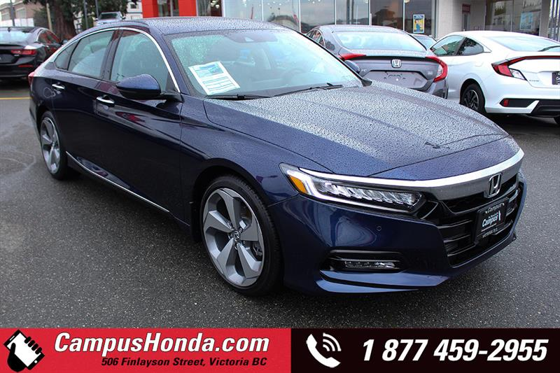 2018 Honda Accord Touring 1.5L Sedan Navigation Bluetooth #18-0142