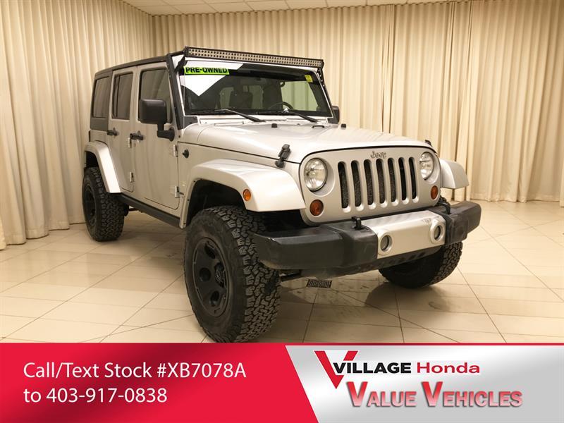 2009 Jeep Wrangler Unlimited Sahara #XB7157