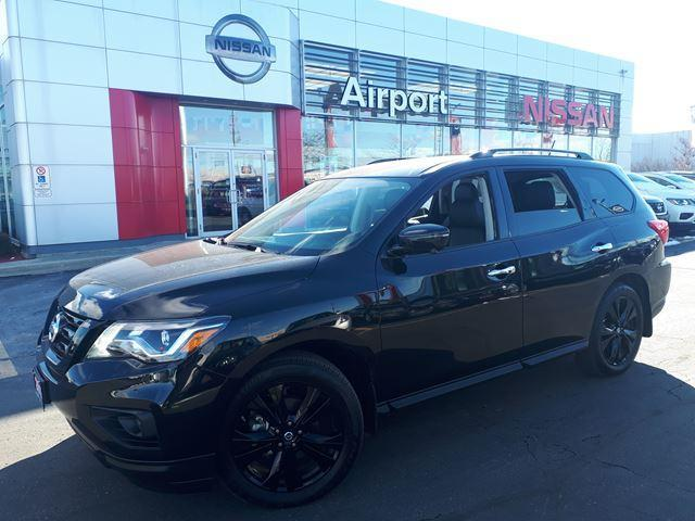 2018 Nissan Pathfinder MIDNIGHT EDITION LOADED,LEATHE #P1764