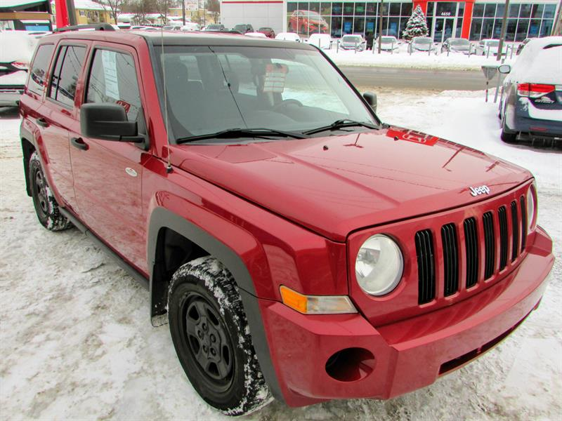 Jeep Patriot 2009 North **8 ROUES 8 PNEUS** BAS KM! ** #UA18134B