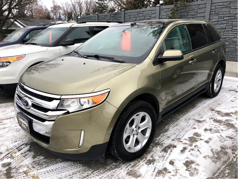 2013 Ford EDGE SEL FWD LEATHER #T3015