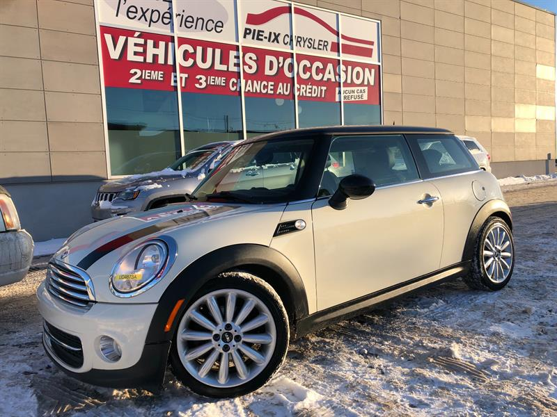 Mini Cooper Hardtop 2012 2dr Cpe+CUIR+TOIT+NAVIGATION+MAGS+WOW! #UD4873A