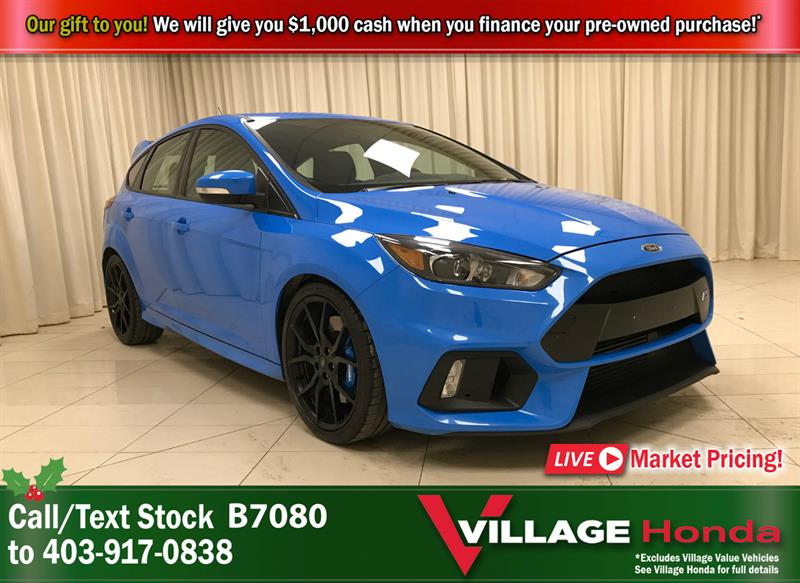 2017 Ford Focus RS - 1 Owner #B7080