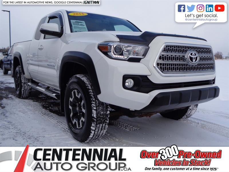 2016 Toyota Tacoma TRD Off-Road | One Owner | Access Cab #S18-224A