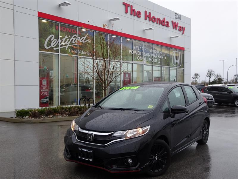 2018 Honda FIT Sport CVT HEATED SEATS, ECON MODE, BACK UP CAMERA  #P5284