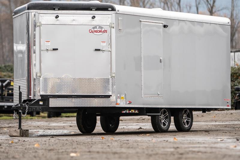 2019 Cargomate Snowbird 8.5x22 Snowmobile Trailer #SB9194
