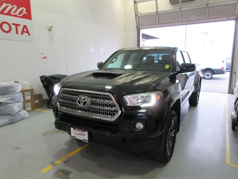 2017 Toyota Tacoma 4WD Double Cab V6 TRD Sport #20336AX