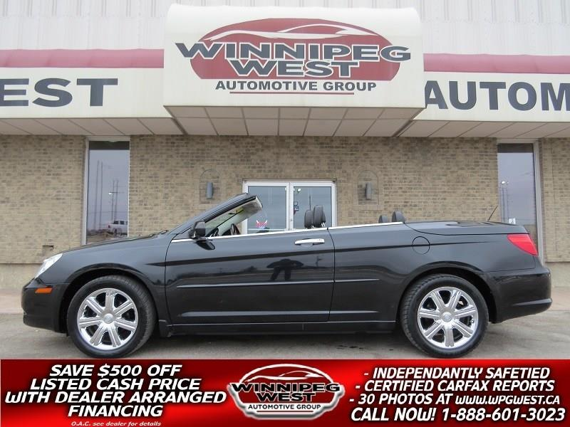 2010 Chrysler Sebring LIMITED *HARD TOP CONVERT* LOADED & LIKE NEW!! #W4831