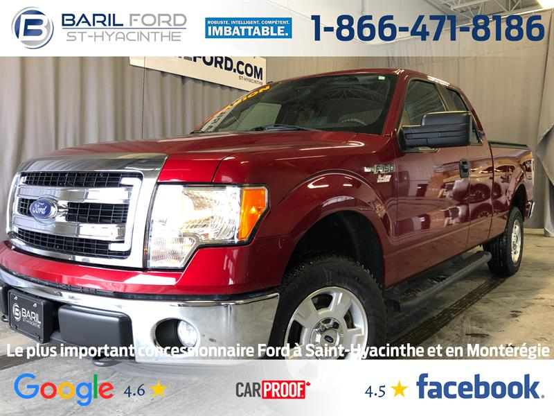 Ford F-150 2014 4WD SuperCab 145 #80877A