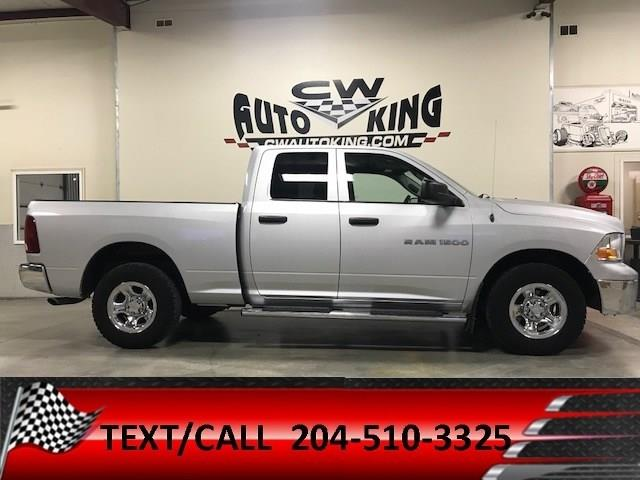 2012 Ram 1500 ST / 4x4 / Quad Cab / Financing Available #20042308