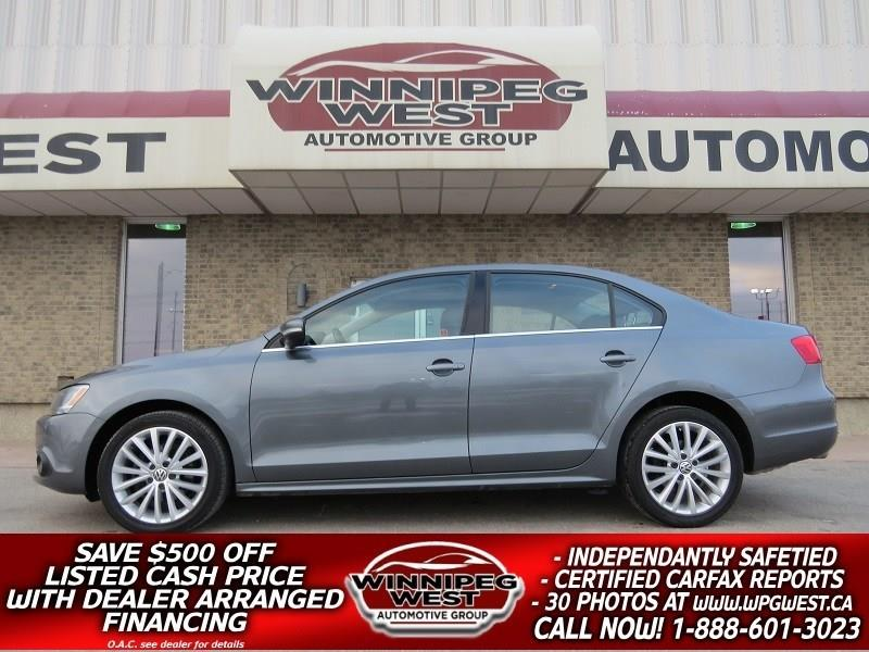 2011 Volkswagen Jetta 2.0 TDI HIGHLINE, ROOF, LEATHER, NAV, WESTERN! #DW4768