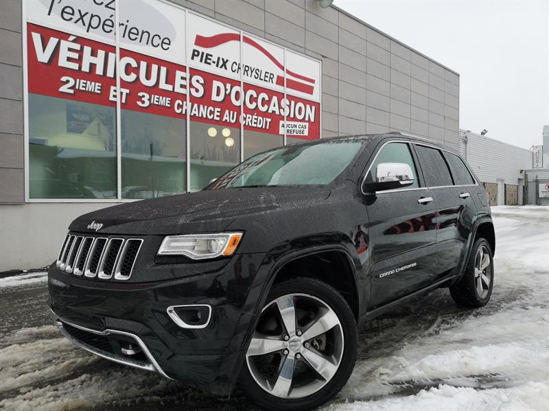 Jeep Grand Cherokee 2015 4WD 4dr Overland+DIESEL+NAV+TOIT PANORAMIQUE+WOW! #UD5017