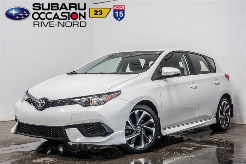Toyota Corolla iM 2017 MAGS+BLUETOOTH+CAM.RECUL #190380A