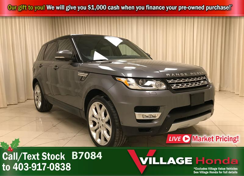 2015 Land Rover Range Rover Sport V8 Supercharged 4WD #B7084