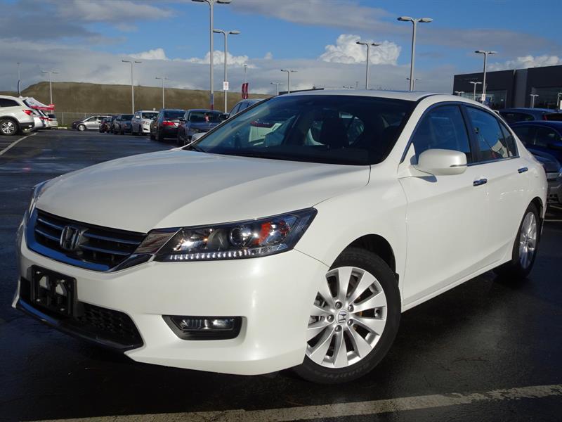 2015 Honda Accord Sedan EX-L CVT! Honda Certified Extended Warranty  #LH8428