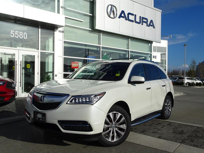 2015 Acura MDX SH-AWD 6-Spd AT w/Navi Package #P6079