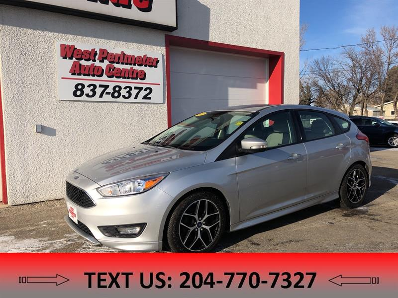 2015 Ford FOCUS SE BLUETOOTH, BACKUPCAM, ALLOY WHEELS #5478