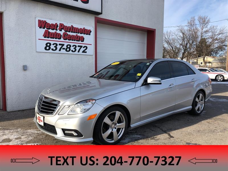2010 Mercedes-Benz E Class E350 4MATIC All Wheel Drive ** Leather ** Sunroof #5133
