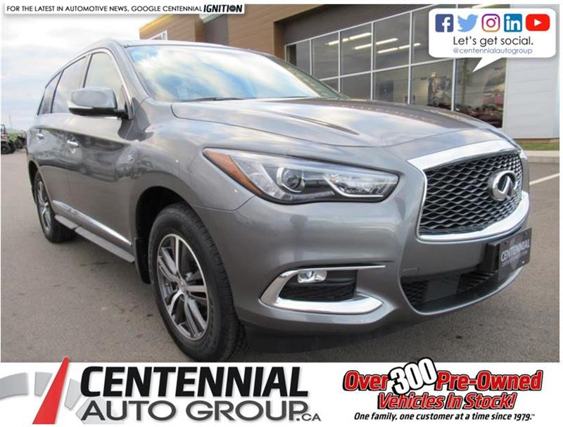 2017 Infiniti Qx60 Premium Package | AWD | Leather | Sunroof #U635