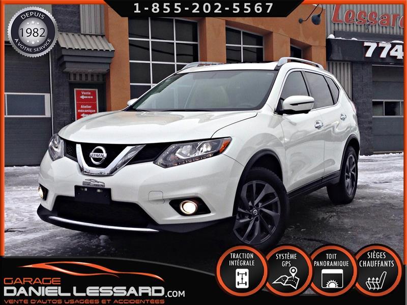 Nissan Rogue 2016 SL, AWD, CUIR, TOIT PANO, GPS MAG 18 P #68545
