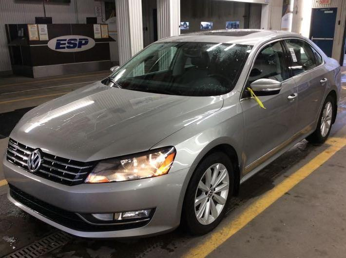 Volkswagen Passat 2013 Highline* SUNROOF*TRÈS PROPRE*$45 SEMAINE #2124 NO ACCIDENT
