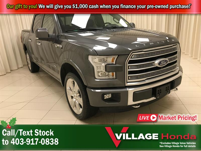 2016 Ford F-150 Limited SuperCrew - 1 Owner #B7119