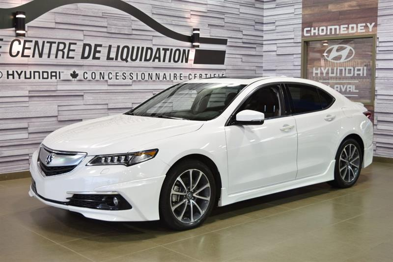 Acura TLX 2015 ELITE+AWD+GPS+LUNCH KIT AERO PACK+CUIR+V6+TOIT OUV #S8666