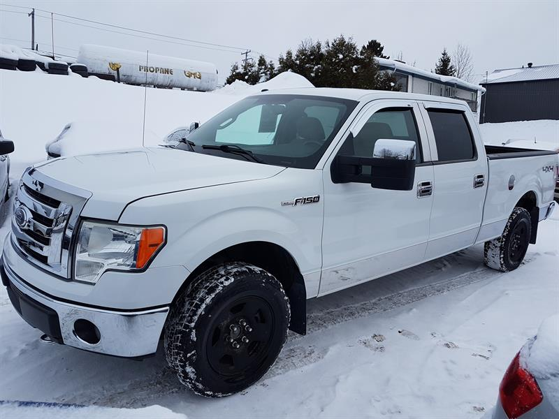 2009 Ford F-150 4WD SuperCrew XLT