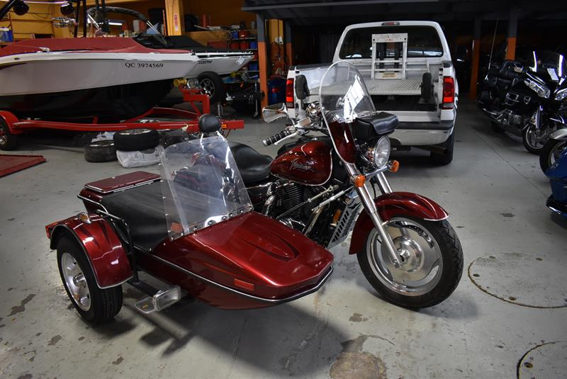 3 Roues Honda shadow 1100 side car 2000