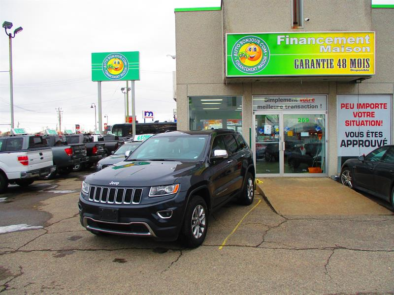Jeep Grand Cherokee 2016 4WD 4dr Limited #18-268