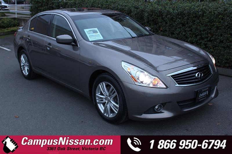2013 Infiniti G37X | Luxury | AWD w/ Moonroof #18-QX6007A
