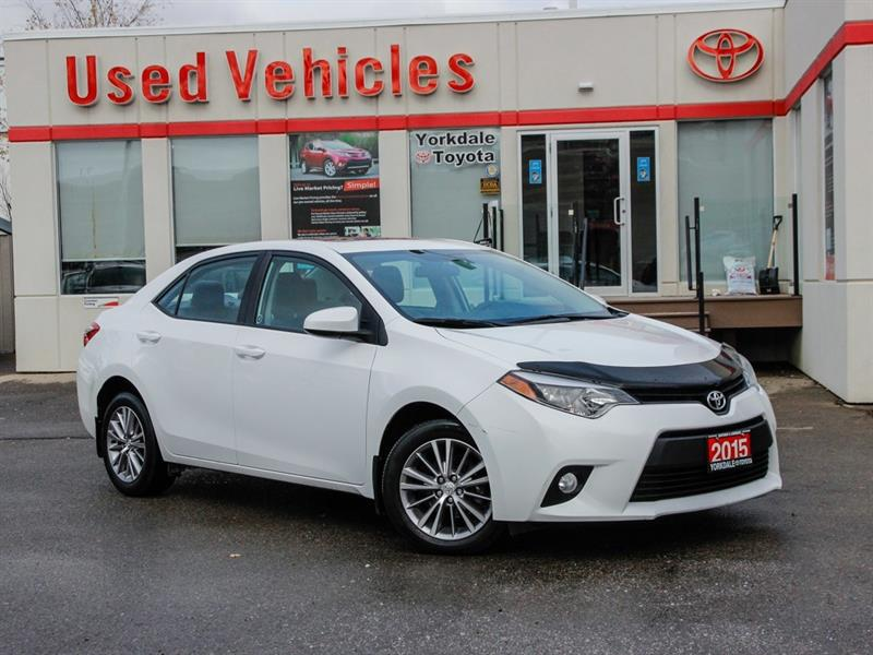 Used Toyota Corolla For Sale In Toronto Yorkdale Toyota