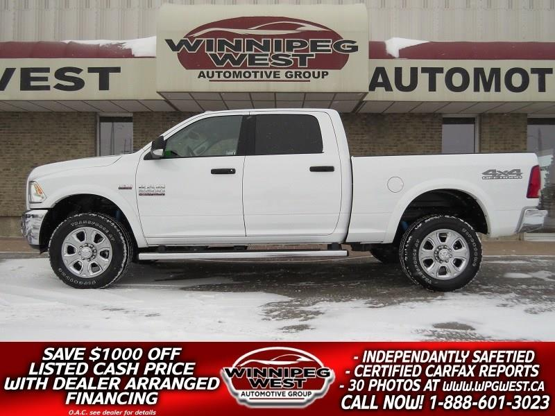 2018 Ram 2500 OUTDOORSMAN 6.4L HEMI 4X4, NAV, OFF ROAD PKG #GW4851A