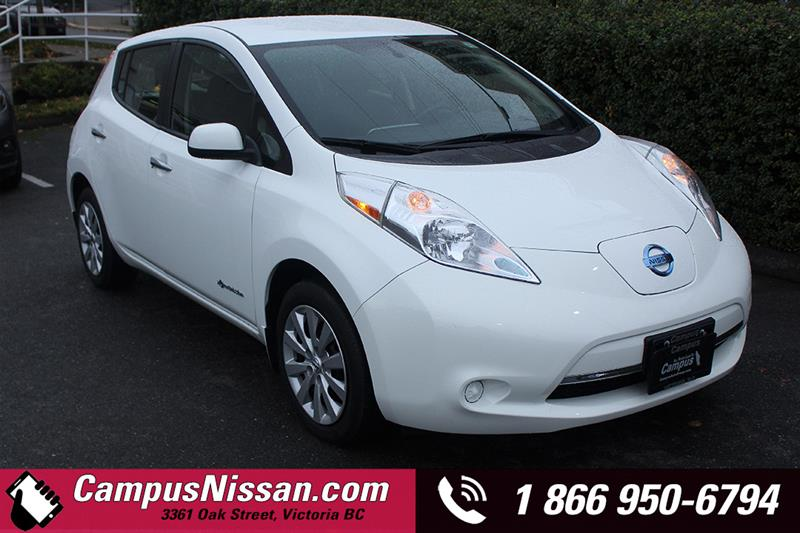 2015 Nissan Leaf | S | FWD w/ Quick-Charge #JN3058