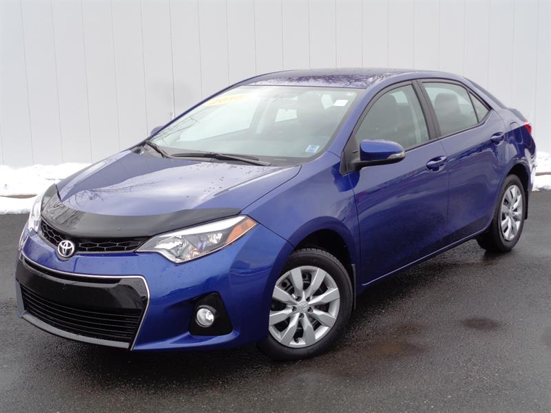 2016 Toyota Corolla 4dr Sdn #C0562A