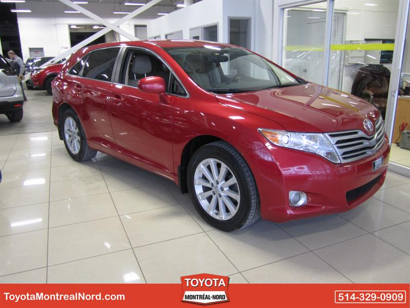 Toyota Venza 2010 LE FWD Aut/Ac/Vitres,Portes,Miroirs Elec #3492 E