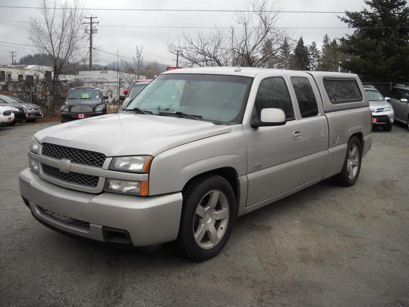 2005 Chevrolet Silverado 1500 SS, XCAB, AWD #N0086
